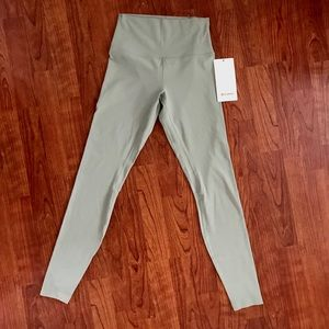 "NWT Lululemon Align 28"" high rise pants"